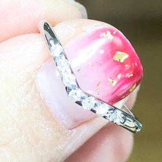 サマンサティアラ(Samantha Tiara)の美品‼️サマンサティアラ プラチナダイヤモンドリング プラチナダイヤリング(リング(指輪))