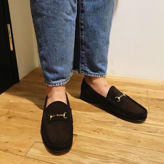 シンゾーン(Shinzone)のCAMINAND ローファー チョコレート(ローファー/革靴)