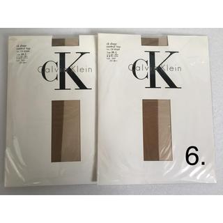 カルバンクライン(Calvin Klein)の6. カルバンクライン パンスト 【未使用】 2足(タイツ/ストッキング)