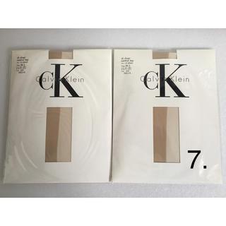 カルバンクライン(Calvin Klein)の7. カルバンクライン パンスト 【未使用】 2足(タイツ/ストッキング)