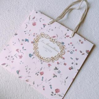 レメルヴェイユーズラデュレ(Les Merveilleuses LADUREE)のLADUREE 紙袋(ショップ袋)