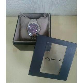 アニエスベー(agnes b.)のこうともも様専用 アニエス・ベー 腕時計 GIVE LOVE (腕時計)