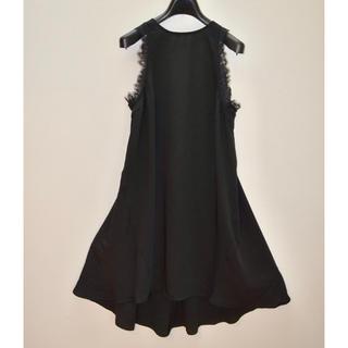 H&M ブラックドレス