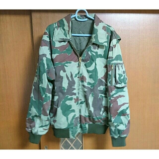 戦闘服迷彩(OD色)作業外被(戦闘服)