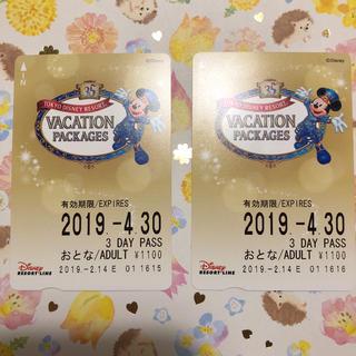 ディズニー(Disney)のディズニーリゾートライン 3days(鉄道乗車券)