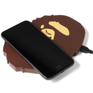 アベイシングエイプ(A BATHING APE)のBape Wireless Charger ワイヤレス充電器(バッテリー/充電器)