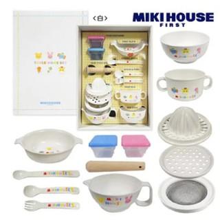 ミキハウス(mikihouse)のミキハウステーブルウェアセット(離乳食器セット)
