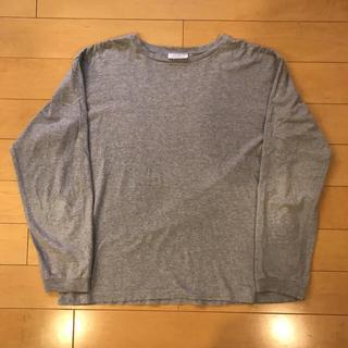 グッドイナフ(GOODENOUGH)の美品 グッドイナフ カットソー グレー(Tシャツ/カットソー(七分/長袖))