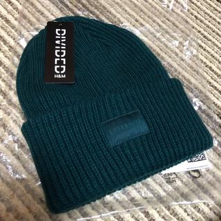 エイチアンドエム(H&M)のリブニットキャップ(ニット帽/ビーニー)