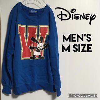ディズニー(Disney)のディズニー オズワルド メンズM スウェット トレーナー ビッグロゴ デカロゴ(スウェット)