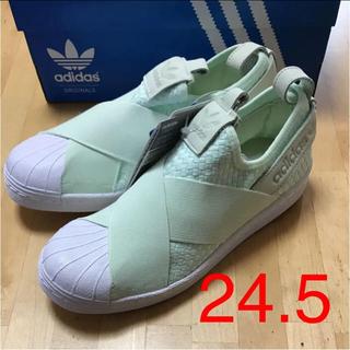 アディダス(adidas)のadidas スリッポン ☆ 24.5(スニーカー)
