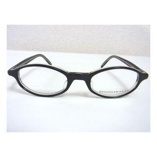 ダナキャラン(Donna Karan)の新品 ダナキャラン メガネ フレーム ブラック 日本製(サングラス/メガネ)