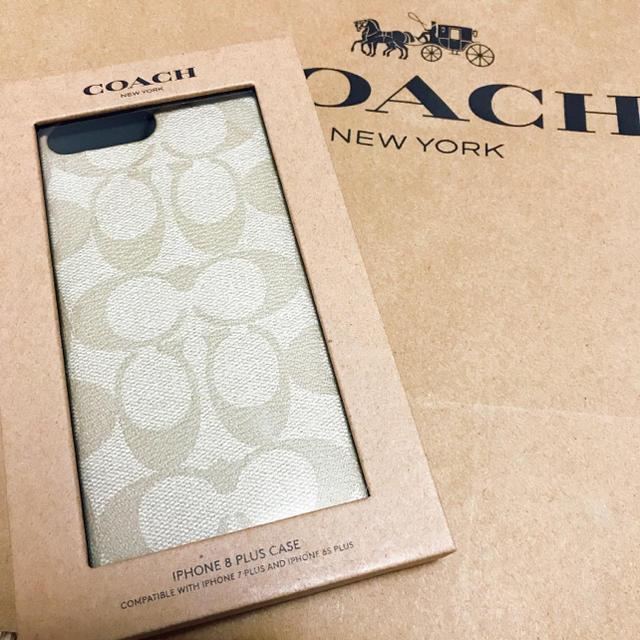 シャネル 本物 iphoneケース | COACH - 新品 正規品 COACH コーチ iPhone8プラスケース シグネチャーの通販 by HKDLluv|コーチならラクマ
