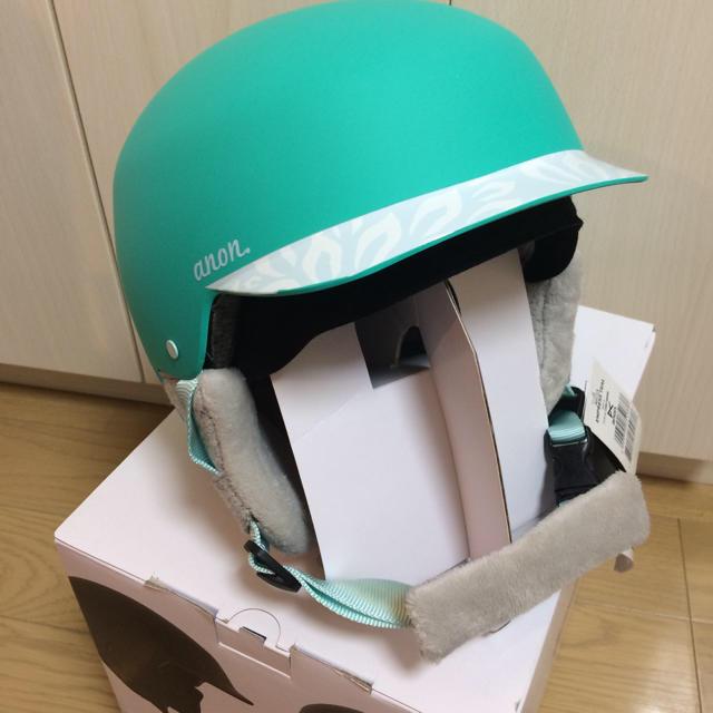 BURTON(バートン)の新品!anon ヘルメット(レディース、キッズ、ジュニア) スポーツ/アウトドアのスノーボード(アクセサリー)の商品写真