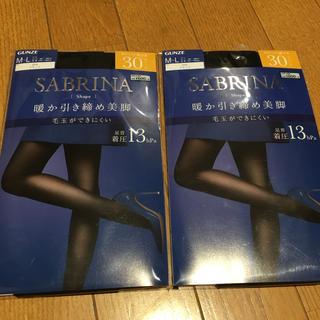 サブリナ(Sabrina)のサブリナ 暖か引き締め美脚  30デニール Mサイズ(タイツ/ストッキング)