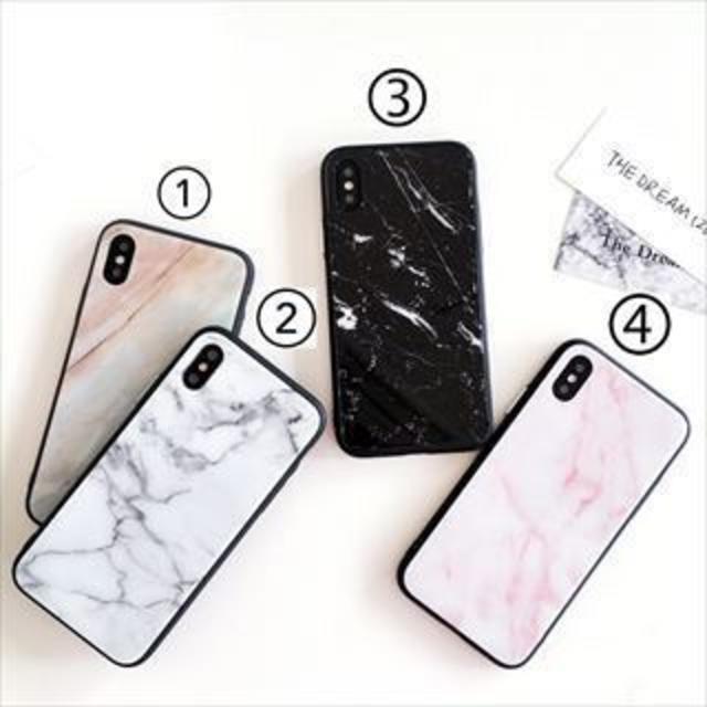 iphonexs ケース ミュウミュウ | 大理石 天然石 シンプル アイフォン iPhoneCA113123の通販 by momoshop|ラクマ