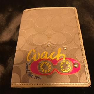 コーチ(COACH)のCOACH 二つ折りカードケース(パスケース/IDカードホルダー)