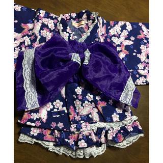 シマムラ(しまむら)のドレス浴衣 90(甚平/浴衣)