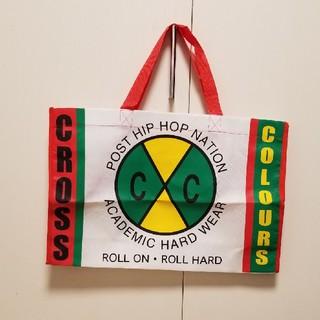 クロスカラーズ(CROSS COLOURS)の新品◆CROSS COLOURS CHEER◆不織布ショップ袋大バッグ(ショップ袋)