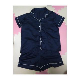 ジーユー(GU)のGUパジャマ(半袖&ショートパンツ)(パジャマ)