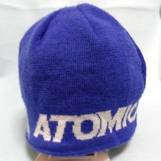 アトミック(ATOMIC)のATOMIC ニット帽 ジュニアフリーサイズ(帽子)