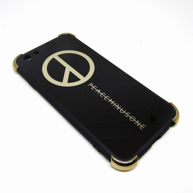 ピースマイナスワン iPhoneケース ブラック //AWAの通販 by ほのか's shop|ラクマ