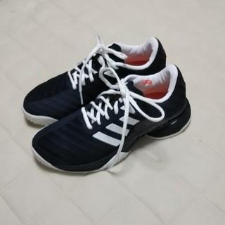 アディダス(adidas)のアディダス バリケード(OC)★ネイビー(シューズ)