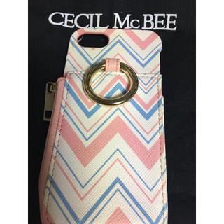 セシルマクビー(CECIL McBEE)のCECIL Mc BEE❣️iPhoneケース♡iPhoneカバー【美品】(iPhoneケース)