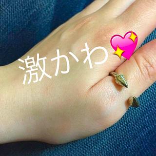 リゼクシー(RESEXXY)の矢印✨矢リング💍親指指輪💍(リング(指輪))