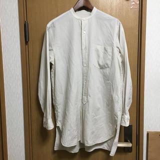 COMOLI コモリ シャツ ノーカラーシャツ カットソー