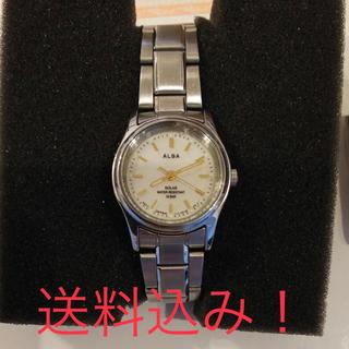 アルバ(ALBA)のセイコー アルバの腕時計 ソーラー(腕時計)