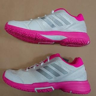 アディダス(adidas)のテニスS 24cm アディダス BARRICADE CLUB W OC(シューズ)