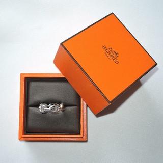 エルメス(Hermes)のエルメス直営店購入 HERMES アンシェネ リング size58 18号(リング(指輪))