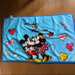 ディズニー(Disney)のミキミニのブランケット(冬物処分セール)(毛布)