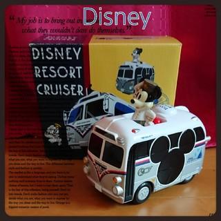 ディズニー(Disney)の箱なし価格!Disney★ミッキーリゾートバス(電車のおもちゃ/車)