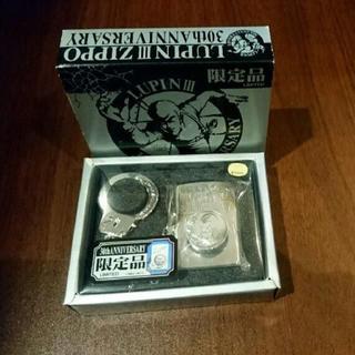 ジッポー(ZIPPO)の未使用 zippo 限定品 ルパン三世 30周年記念 手錠タイプ(タバコグッズ)