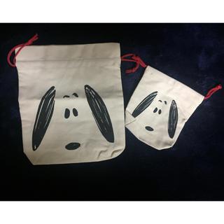 スヌーピー(SNOOPY)のスヌーピー雑誌付録巾着セットのみ⑤(ランチボックス巾着)