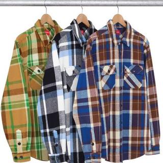 シュプリーム(Supreme)のsupreme heavyweight plaid shirt シャツ M 19(シャツ)