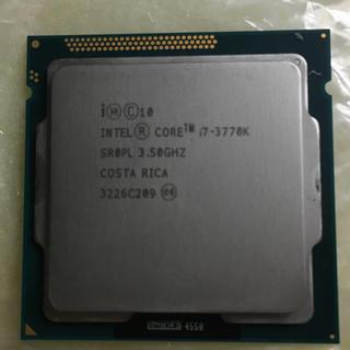 インテレクション(INTELECTION)のIntel Core i7 3770k 中古品(PCパーツ)