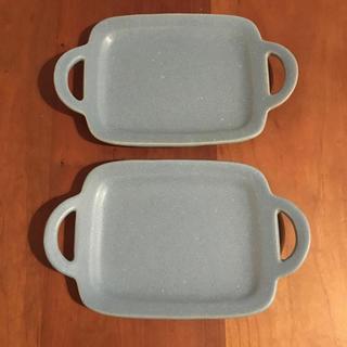 ハクサントウキ(白山陶器)のよしざわ窯 取っ手付きプレート1枚 くるりん様☺︎(食器)