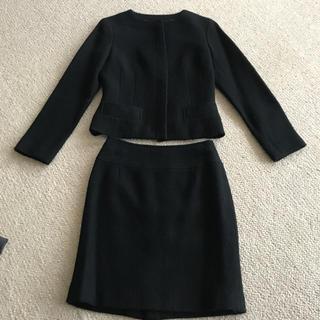 ナチュラルビューティーベーシック(NATURAL BEAUTY BASIC)のnatural beauty basic黒ウールスーツ(スーツ)