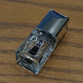 クリスチャンディオール(Christian Dior)のDior * ジェル トップコート * ミニサイズ(ネイルトップコート/ベースコート)