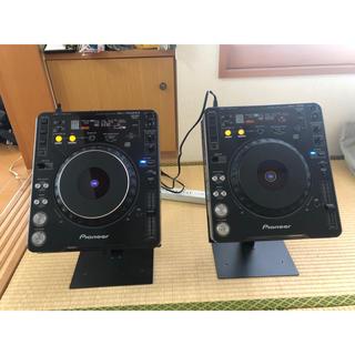 パイオニア(Pioneer)のCDJ-1000,CDJ-1000mk2 2台セット(スタンド付き)(CDJ)