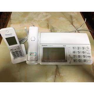 パナソニック(Panasonic)ののび太様専用 Panasonic おたっくす KX-PD604DL-W(オフィス用品一般)