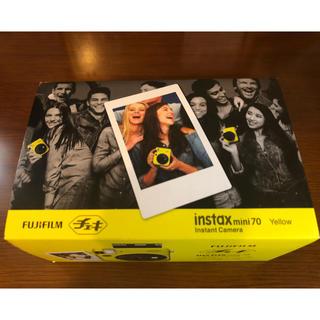 フジフイルム(富士フイルム)のチェキ instax mini 70 Yellow(フィルムカメラ)