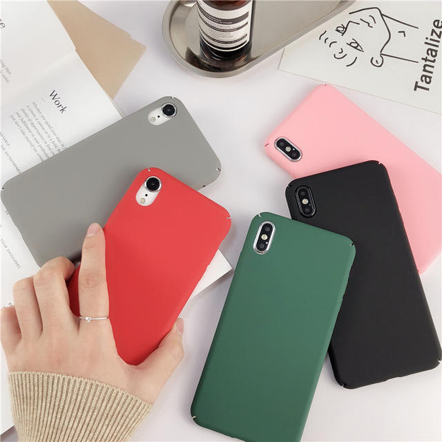 iphone ケース ダッフィー | 送料込み シンプル 無地 つや消し iPhoneケースの通販 by PONYshop|ラクマ