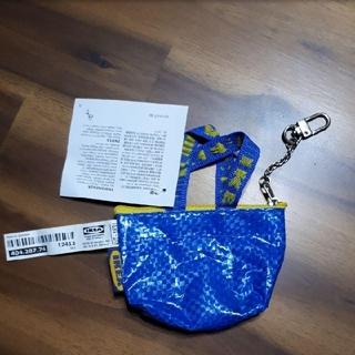 イケア(IKEA)のIKEA イケア ブルーバッグ ミニ(コインケース)