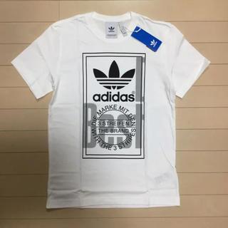 アディダス(adidas)の◆新品◆アディダスオリジナルス Tシャツ 白/ステューシー好きにも(Tシャツ/カットソー(七分/長袖))
