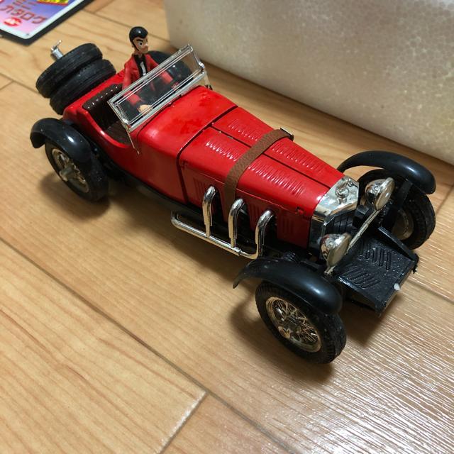BANDAI(バンダイ)の当時もの ポピー ポピニカルパン三世PB-62メルセデスベンツSSK超合金 エンタメ/ホビーのおもちゃ/ぬいぐるみ(ミニカー)の商品写真
