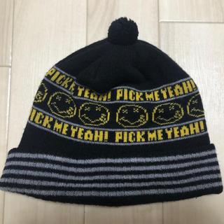 ヒステリックグラマー(HYSTERIC GLAMOUR)のヒステリックグラマー NIRVANAカートコバーンニット帽(ニット帽/ビーニー)